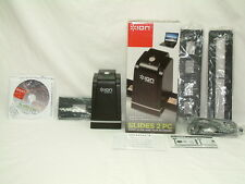ION SLIDES 2 PC - 35MM Film / Slide / Negative Scanner & Guide