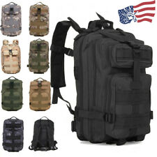 30L Outdoor Military Molle Tactical Backpack Rucksack Camping Hiking Travel Bag
