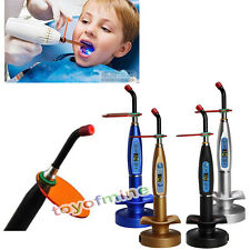 New Dentist Dental 10W Wireless Cordless LED Curing Light Lamp 2000mw
