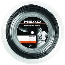(0,33 €/M) Head Sonic Pro Edge 16 Black 200 M Tennis Strings