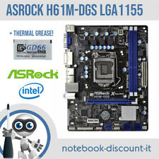 ASRock H61M-DGS Motherboard CPU Socket LGA1155 Slot RAM DDR3  + THERMAL GREASE
