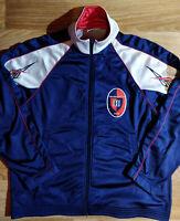Reebok Cagliari Calcio 90's Vintage Football Mens Soccer Sweatshirt Track Jacket