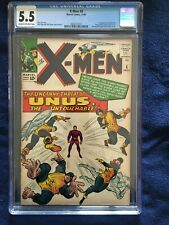 X-Men #8 - CGC 5.5 - Cream To Off-White Pages
