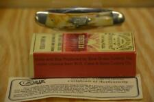 1994 CASE XX 55039, SOW BELLY THICK STAG 5 BLADE KNIFE, IN BOX      #CG34