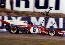 Jacky Ickx Ferrari 312 B2 British Grand Prix 1972 Signed Photograph 4