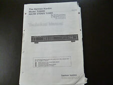 Original Service Manual Harman Kardon TU9400