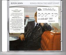 (HG591) Elton John, Songs From The West Coast - 2001 CD