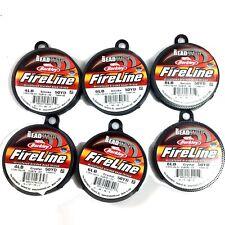 Fireline Beading Thread Beadsmith 4lb,6lb,8lb Crystal Smoke 50yard Free Shipping