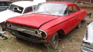 Pair of Front Coil Springs for 1960 Chevrolet Bel Air 4 Door Sedan