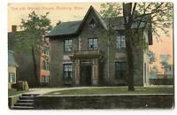 Postcard The Old Warren House Roxbury MA 1911
