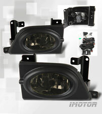 Smoked lens Fog Lights with Switch Wiring kit For 2006-2008 Honda Civic Sedan