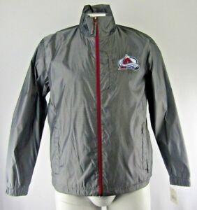 Colorado Avalanche NHL Men's G-III Full Zip Windbreaker Jacket Gray L