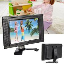 Fake Mini LCD TV Doll Toy Structures Accessories For Doll home House Furniture