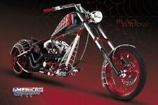 AMERICAN CHOPPER POSTER Black Widow Motorcycle NEW 1218