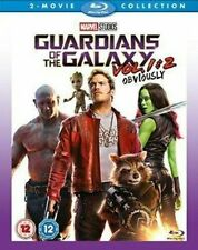 Guardians of The Galaxy Vols 1 and 2 Blu-ray 2017 Region DVD