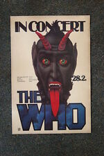 The Who Tour Poster 1976 Munchen West Germany
