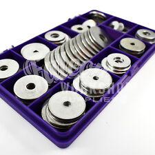 175 ASSORTED A2 STAINLESS STEEL PENNY REPAIR FENDER WASHERS M3 M4 M5 M6 M8 M10