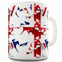 Twisted Envy Great Britain Horse Racing Collage Ceramic Tea Mug