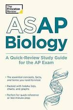 College Test Preparation: ASAP Biology: a Quick-Review Study Guide for the AP...