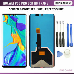 For Huawei P30 Pro LCD Screen Replacement Touch Display Digitizer Assembly Frame