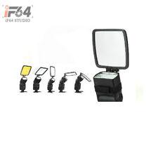 Universal Pro Flash Diffuser Reflector Bounce for Speedlite Unit 4 Colour w/ TN.