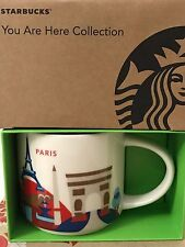 NEW Starbucks PARIS France YAH You Are Here 14 oz mug