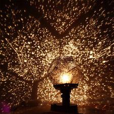 Us Romantic Celestial Starry Galaxy Night Light Constellation Star Sky Projector