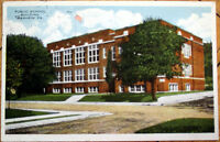 1910 Manheim, PA Postcard: Public School Building - Pennsylvania