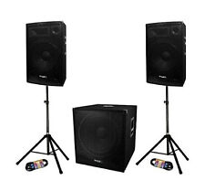 Systeme Amplifie Sound Cube 1512a Ibiza 800w Cube1512
