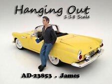"""HANGING OUT"" JAMES FIGURE FOR 1:18 SCALE MODELS BY AMERICAN DIORAMA 23853"