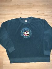 Vtg Disney Mickey Minnie Donald Goofy Crewneck Sweatshirt Size L