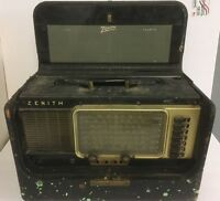 Vintage Collectible Zenith Wave-Magnet Super Deluxe Trans-Oceanic Portable Radio