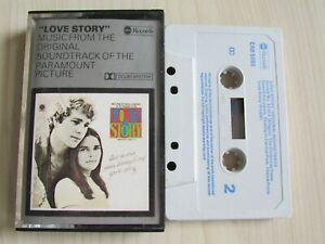 """""""LOVE STORY"""" MUSIC FROM THE SOUNDTRACK CASSETTE - ORIGINAL 1970 TAPE - TESTED."""