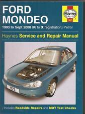 FORD MONDEO HAYNES WORKSHOP MANUAL Models 1993 - 2000 (1923 Haynes Hardback 2003