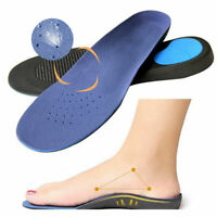Blue Memory Foam Orthotics Arch Pain Relief Support Shoe Insoles Insert Pads