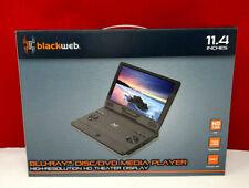 "Blackweb 11.4""  Blu-ray Disc/DVD Media Player High Res. HD Theater Display NIB!"