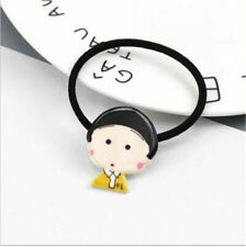 Fashion Women's Sakura Momoko Elastic Hair Tie Band Rope Ring Ponytail Holder