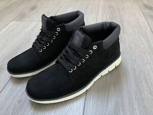 Timberland »Bradstreet Chukka Leather« Sneaker Schwarz Gr.42 UK 8 Neu