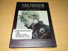 NUEVO ES Final Fantasy VII 7 Advent Children DVD Limited Edition Collector's Set