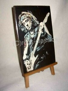 Adrian Smith Wall Plaque  by Rock Legends Wall Art