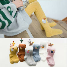 Korea Style Clothes Accessories Baby Tights Autumn Breathable Parrot Embroidery