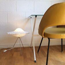 Lampe à lamelles Plastique Blanc Space Age Tripode Vintage Spoutnik Design 1970
