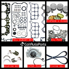 FITS: 92-96 HONDA PRELUDE 2.3L DOHC H23A1 BRAND NEW MASTER ENGINE REBUILD KIT