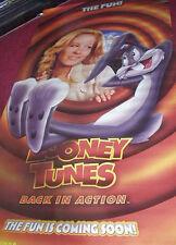 Cinema Banner: LOONEY TUNES BACK IN ACTION 2003 Jenna Elfman