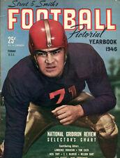 1946 Street Smith's Football Annual Yearbook John Ferraro USC Trojans