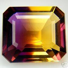 18,23 ct  Violet Gold Ametrine - Emerald cut - VVS