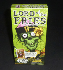 CheapAss Games Lord Of The Fries Superdeluxe Edition Zombie Fast Food Card Game