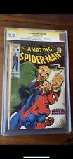 amazing spiderman 69 Cgc 9.0 Ss Stan Lee