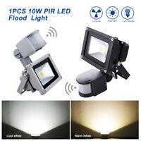 LED PIR Motion Sensor Flood Light Garden IP65 Lights Outdoor Security Lamp 10W
