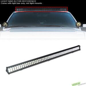 """288W 96X CREE LED 50"""" Work Light Bar Spot Flood Fog Lamp For SUV Van Truck V10"""